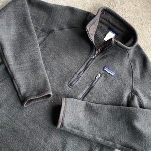 Patagonia Better Sweater Medium Brown Fleece Flaw